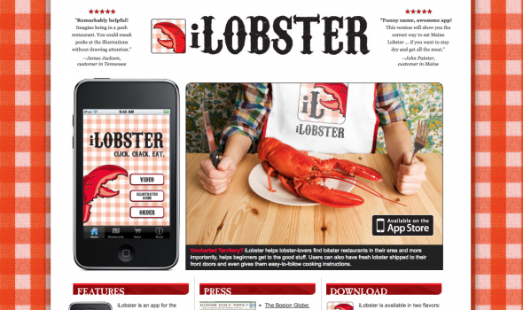 iLobster website